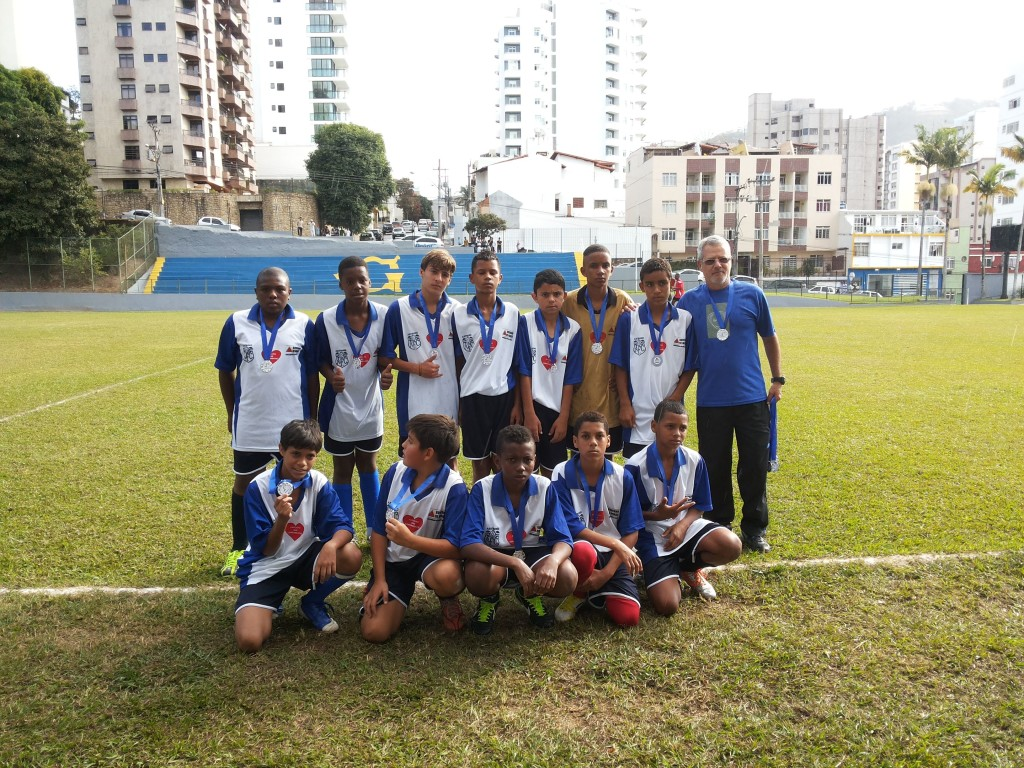 Vice-campeões da Escola Estadual Camilo Guedes