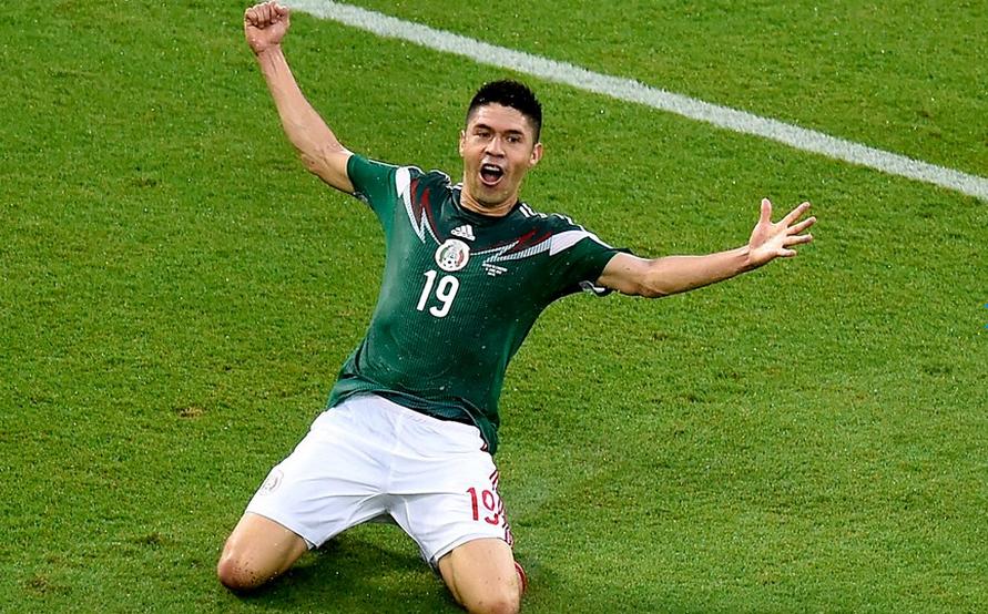 Peralta marcou dez gols nos últimos 11 jogos - contando amistosos - pelo Méxio