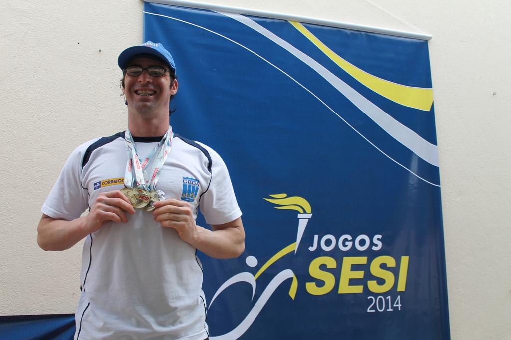 Wander Delon de Moura Fontes - Destaque Masculino Categoria Master (a Partir de 35 anos): 3 vitórias e 2 recordes quebrados