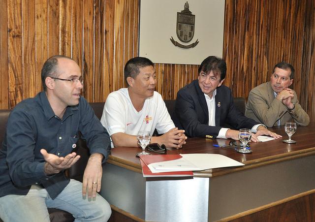 Diretor da Faefid, Maurício Bara, garantiu realização de workshops e