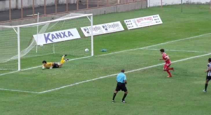 Gol de pênalti do Mogi na primeira partida entre as equipes na Série C
