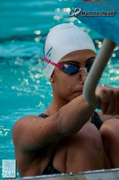 Beatriz é mais uma jovem atleta do Bom Pastor a ganhar destaque nacional nas piscinas