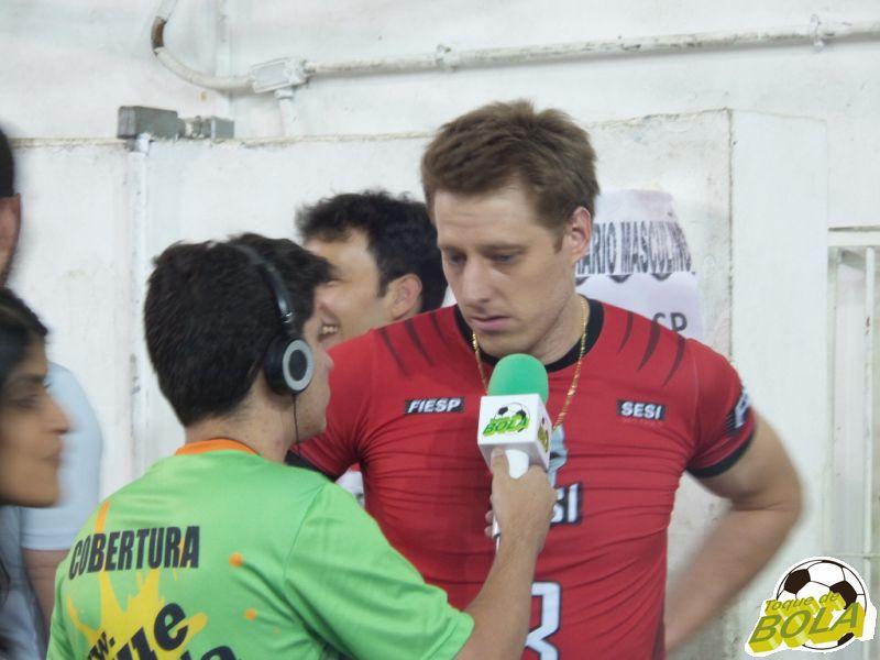 Murilo em entrevista a Guilherme Fernandes, do Toque de Bola