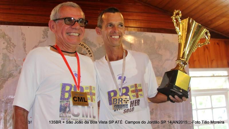 Farinazzo (direita) assumiu que a disputa da BR 135 não estava em seus planos, mas ainda assim conquistou o título