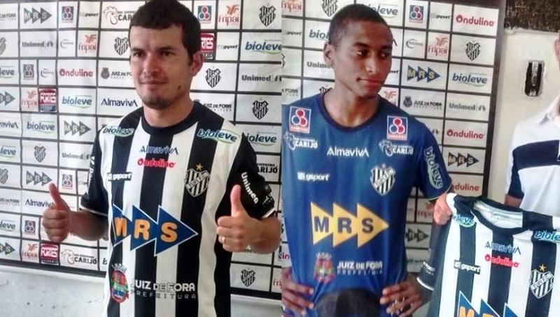 Osmar (direita) e Ygor têm bagagem no futebol mineiro