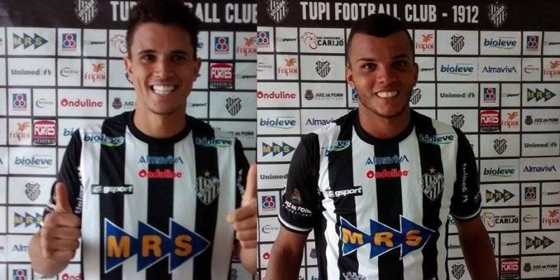Emerson (esquerda) e Bruno Arrabal afirmaram estar prontos fisicamente para estrear pelo Tupi