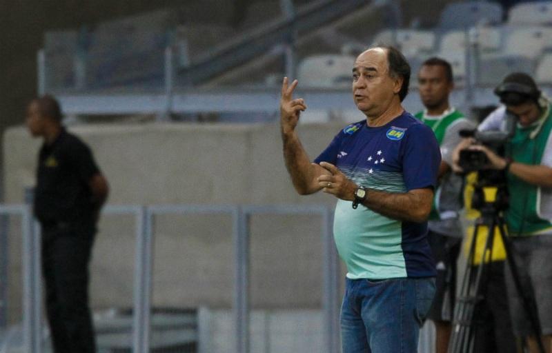 Marcelo Oliveira definira formação contra o Tupi após jogo da Libertadores