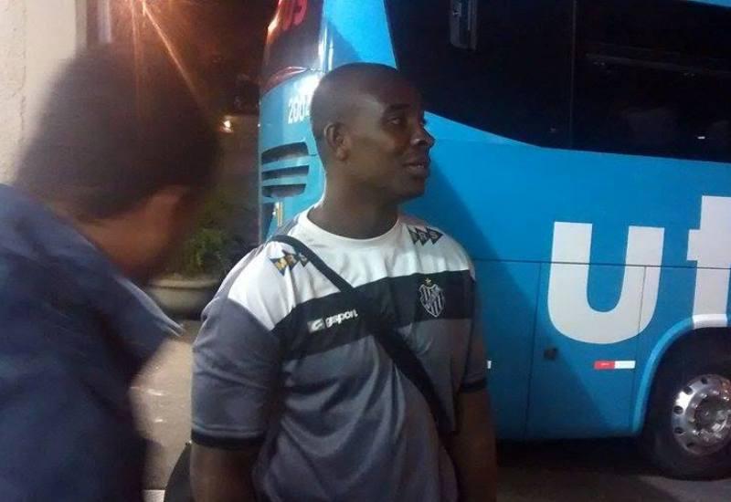 Assim como no Mineiro, Glaysson foi um dos destaques do Tupi na vitória sobre o Furacão