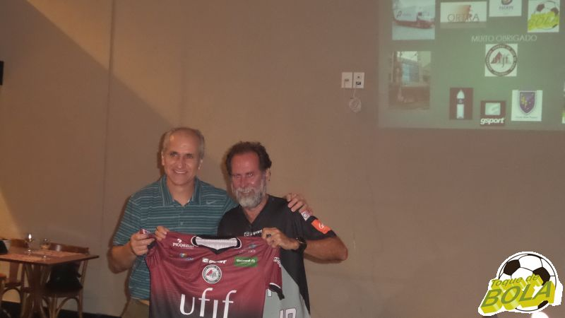 Renato Miranda na homenagem a Basileu Tavares