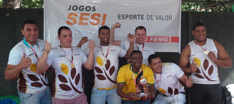 Aryzta do Brasil Alimentos: campeã no cabo de guerra masculino
