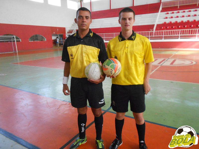 Fábio Silva e Igor Chagas apitaram a rodada no Tupynambás