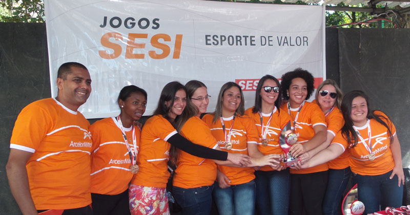 ArcelorMittal Juiz de Fora: campeã no cabo de guerra feminino
