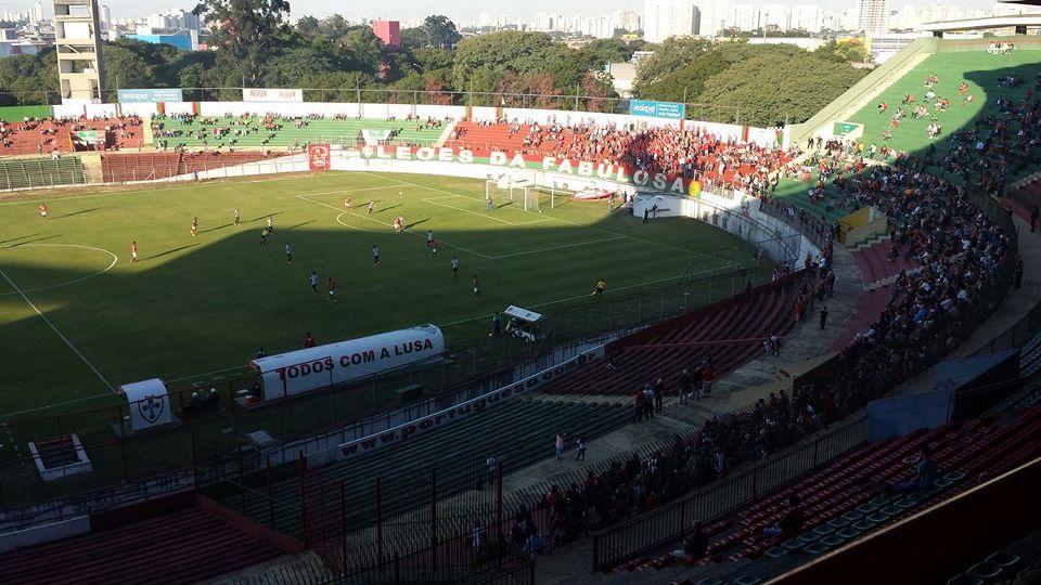 Canindé voltou a ser o palco dos jogos da Portuguesa