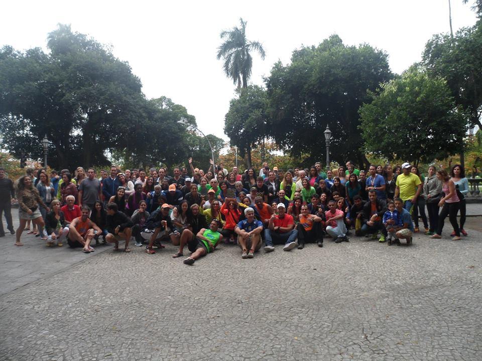 Atletas de Juiz de Fora tomaram o Rio de Janeiro  no domingo