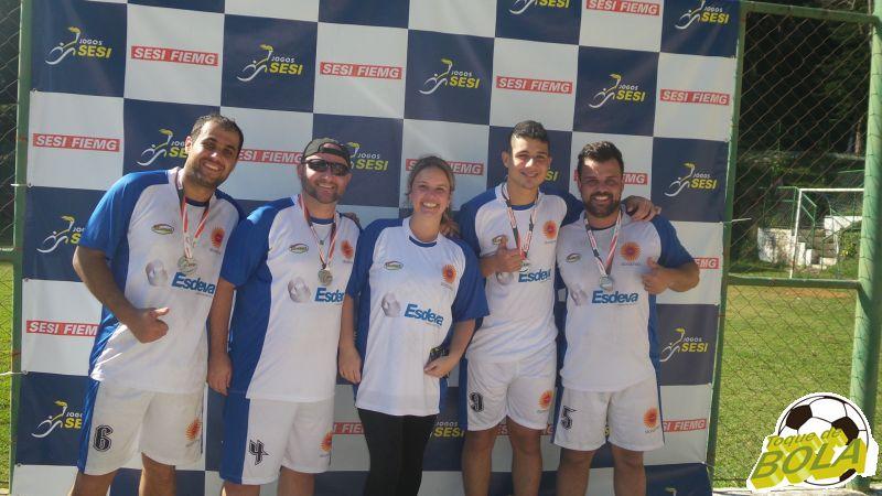 Tatiana Ladeira, da BD, prestigiou Wladimir e a equipe da Esdeva