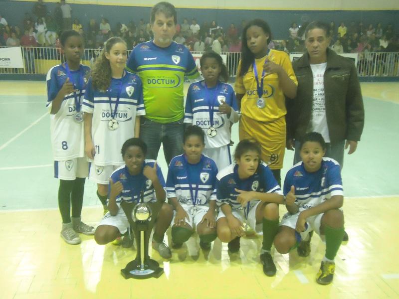 Dom Bosco: equipe vice-campeã infantil da Copa Prefeitura Bahamas de Futsal 2015
