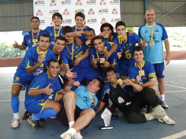 Equipe da AABB campeã dos Jimi 2008