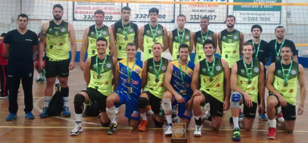 Vôlei UFJF é campeão da etapa regional dos Jogos de Minas 2015