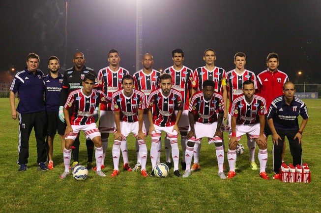 Francis e Vitinho, ex-Tupi, subiram com o Botafogo-SP (Foto: site oficial do Botafogo-SP)