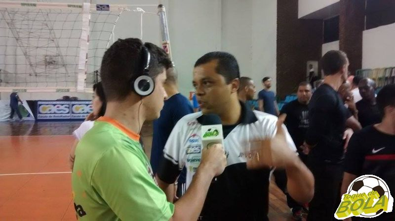 Alessandro Fadul não entendeu a atitude de Fronckowiak após a partida