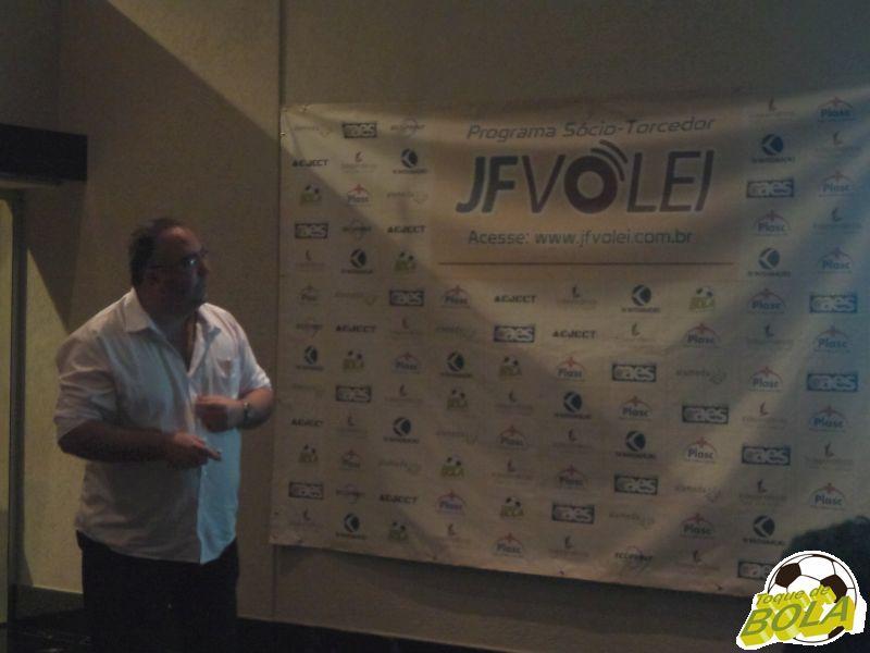 Heglisson Toledo cuida da gestão do JF Vôlei