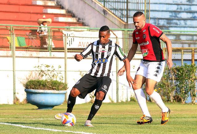 Remanescente do Estadual de 2015, Ygor ganhou espaço no fim da Série C com Leston Júnior (Foto: Leonardo Costa/tupifc.esp.br)