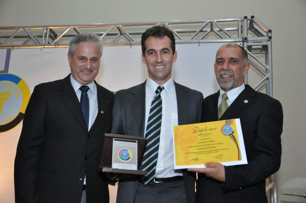 Condé é agraciado pelo Panathlon Club de Juiz de Fora
