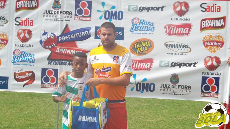 Gabriel foi escolhido como melhor jogador do ACI na competição