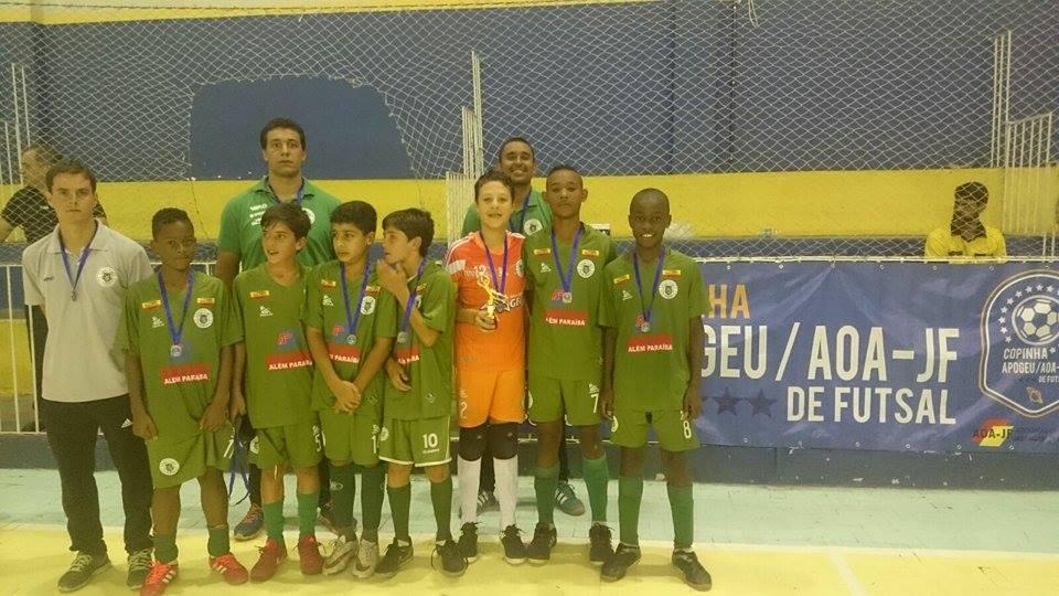 Sport Club Apogeu, terceiro lugar na categoria sub-13