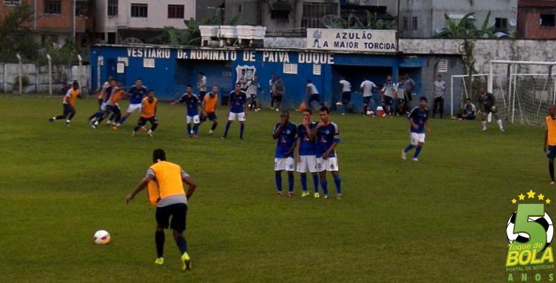 Jogo-treino contra o Minas, em Lima Duarte, registrado pelo Toque de Bola, teve grande número de cruzamentos na área da equipe mandante