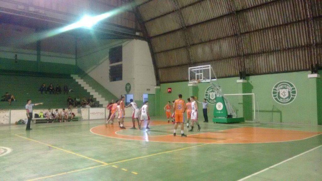 Primeira rodada ocorreu no ginásio do Sport Club (Foto:Daniel Defilippo)