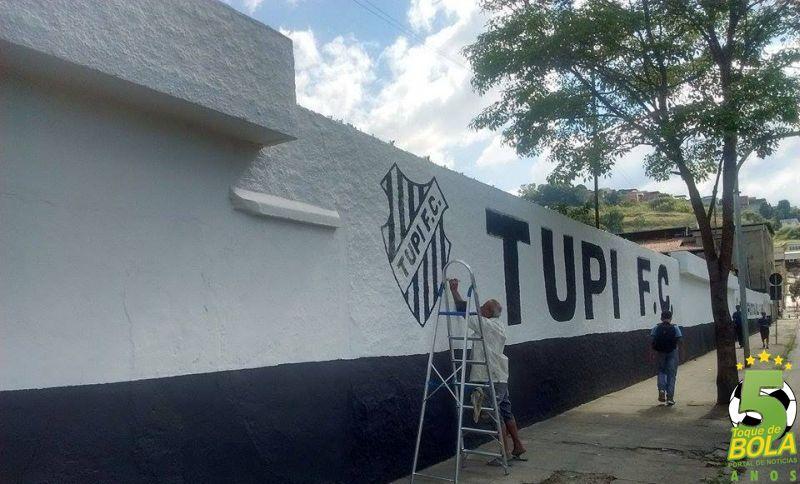 Tupi treinou na manhã desta terça-feira no Estádio Salles Oliveira, em Santa Terezinha, de olho no compromisso contra o Vasco