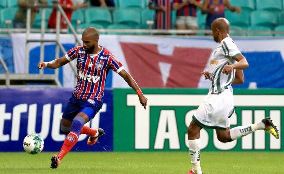 Bahia venceu Luverdense pela contagem mínima no sábado à noite