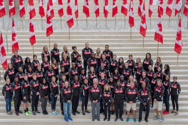 Delegação canadense é a que chega em Juiz de Fora com o maior número de integrantes