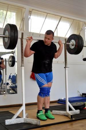 Kruzel é o único representante eslovaco no levantamento de peso (Foto: Twin Alvarenga/UFJF)