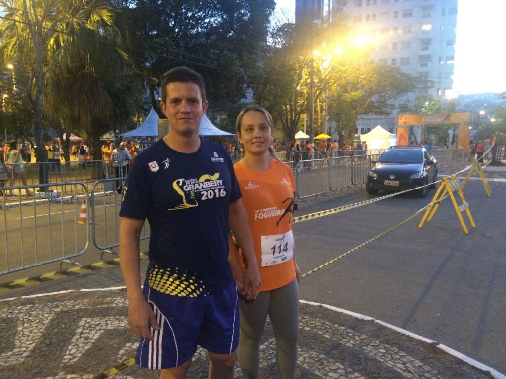 Sandro Tomaz e a esposa Jucilene