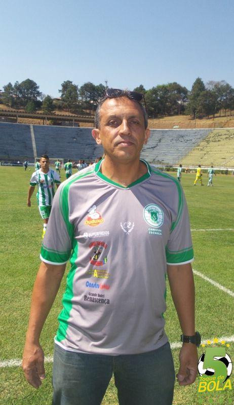 Amarilio trabalha para Sport disputar Mineiro Sub-20 e Segundona Mineira em 2017 (Foto: Toque de Bola)