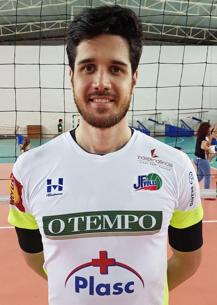 Diego é o novo reforço do JF Vôlei (Foto: Vitor Bara / Assessoria)