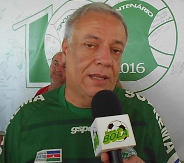 Márcio Guerra contou histórias de quem viveu o dia-a-dia do Sport Club