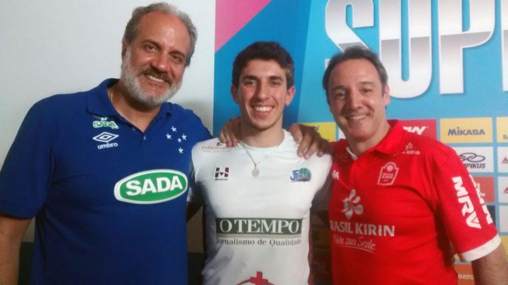 Marcelo Mendez, Juan Mendez e Horacio Dileo: laços de família na Superliga