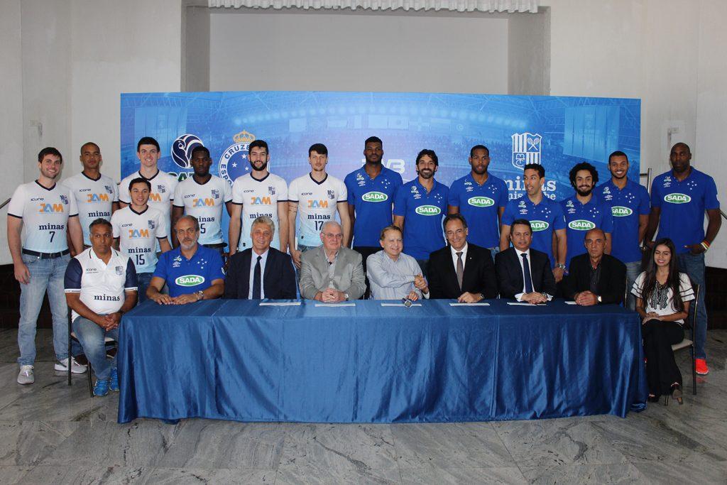 Minas e Sada Cruzeiro vão representar o Brasil no Mundial de Clubes (Foto: Renato Araújo – Divulgação Sada Cruzeiro)