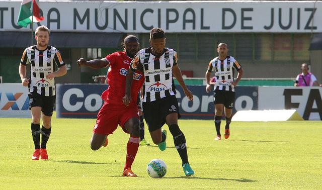 Galo jogou com raça, mas não conseguiu superar o Náutico na última partida em Juiz de Fora pela Série B 2016