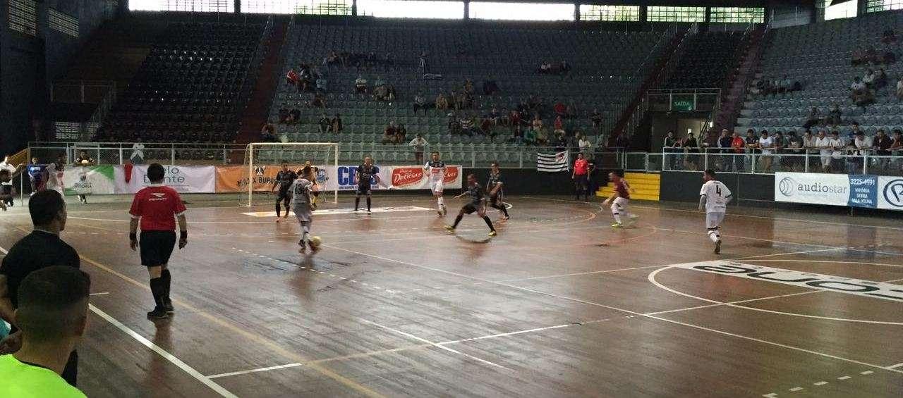 efb16303a9484 Copa Brasil  Futsal Tupi conta com apoio do torcedor na manhã de ...
