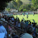 Estádio Serafim Machado, palco da primeira partida das finais