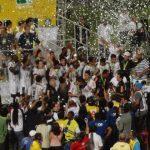 Todas as pompas ao legítimo campeão brasileiro da Série D, Tupi Futebol Clube
