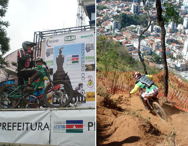 Read more about the article Ciclistas locais vencem Elite no Downhill do Imperador