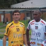 Paulo Henrique Toledo, organizador do Jogo do 30, e Claudinei