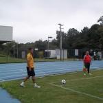 Rafael Toledo cobra escanteio pela direita de ataque