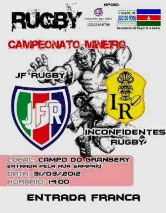 JF Rugby estreia no Campeonato Mineiro jogando em casa