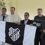 Emoção em branco e preto: missa do centenário foi realizada na sede social
